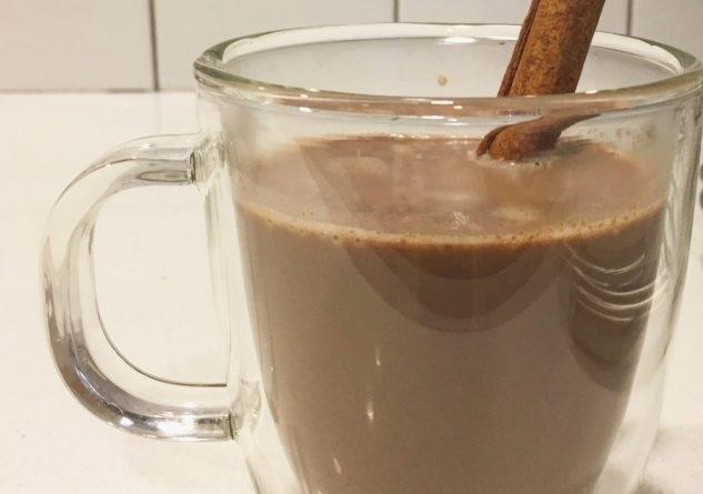фото горячего шоколада с красным вином