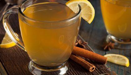фото напитка горячий Тодди с виски