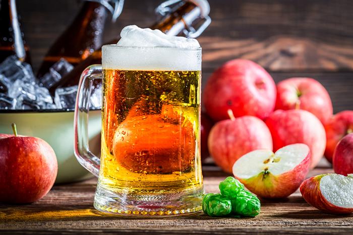 Особое фруктовое пиво