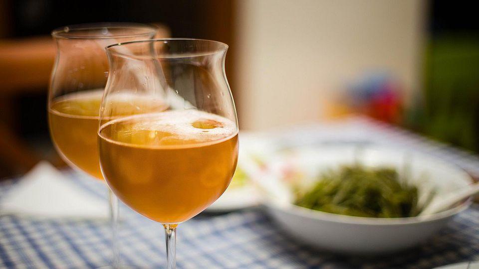 Пиво с пряностями, травами, овощами