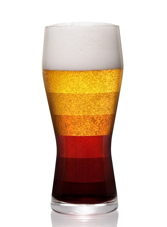 типы пива по цвету