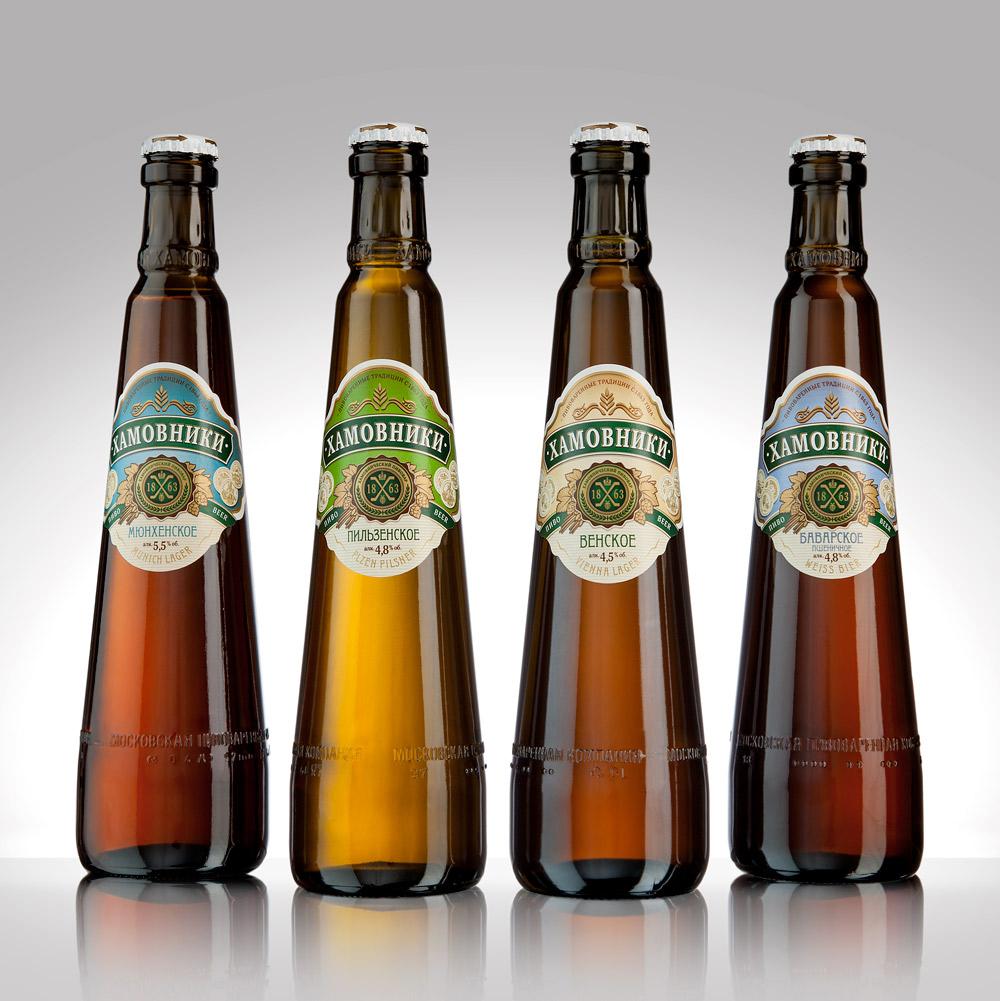 фото видов пива хамовники