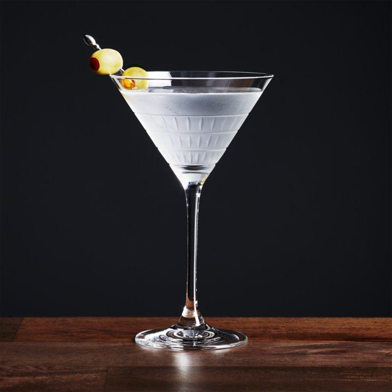 Бокал для мартини фото