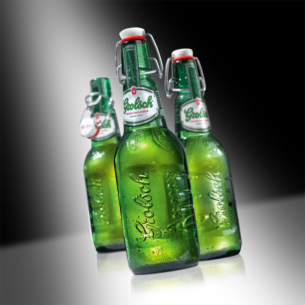 фото бутылки пива гролш