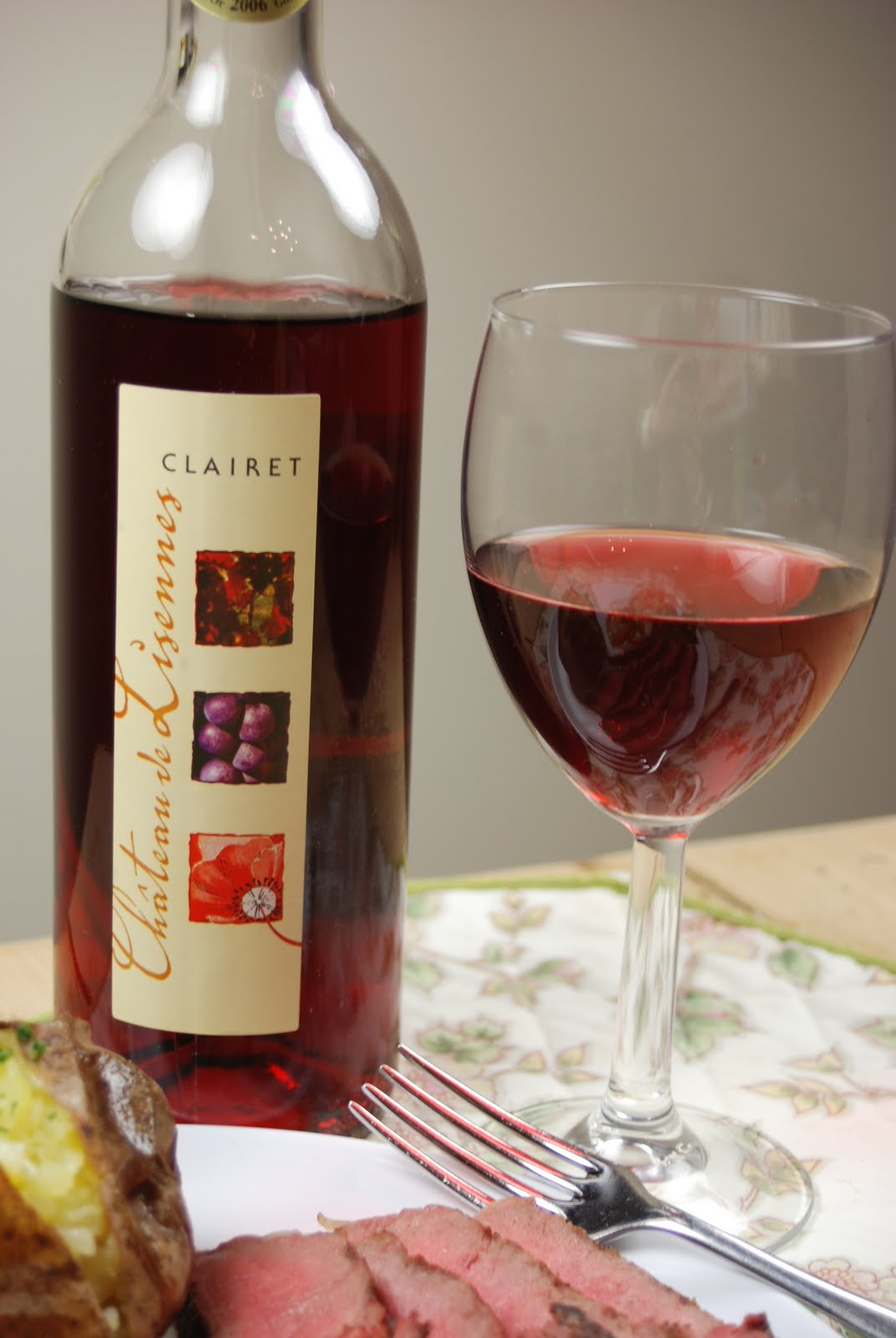 фото красного вина кларет