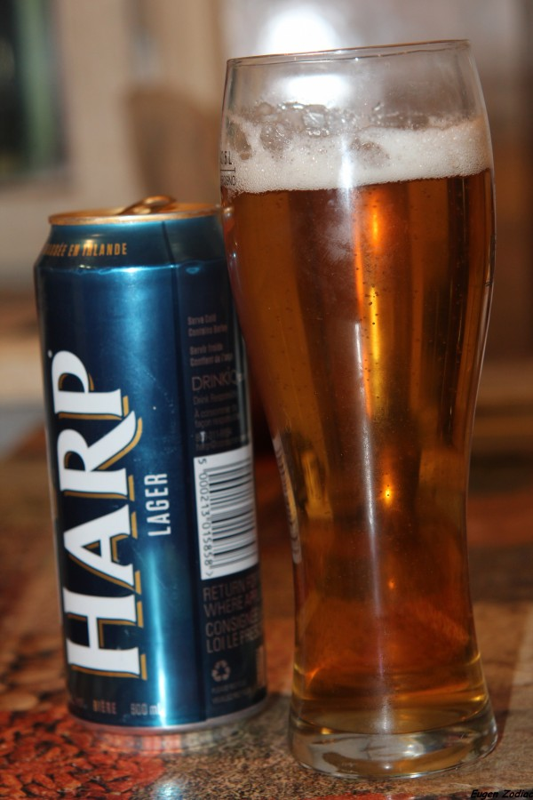 фото пива харп в бокале