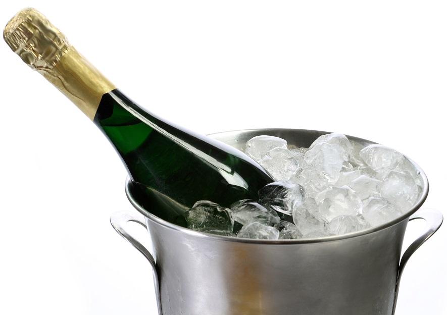 фото ведерка со льдом для шампанского