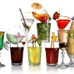 фото разных видов бокалов для коктейлей