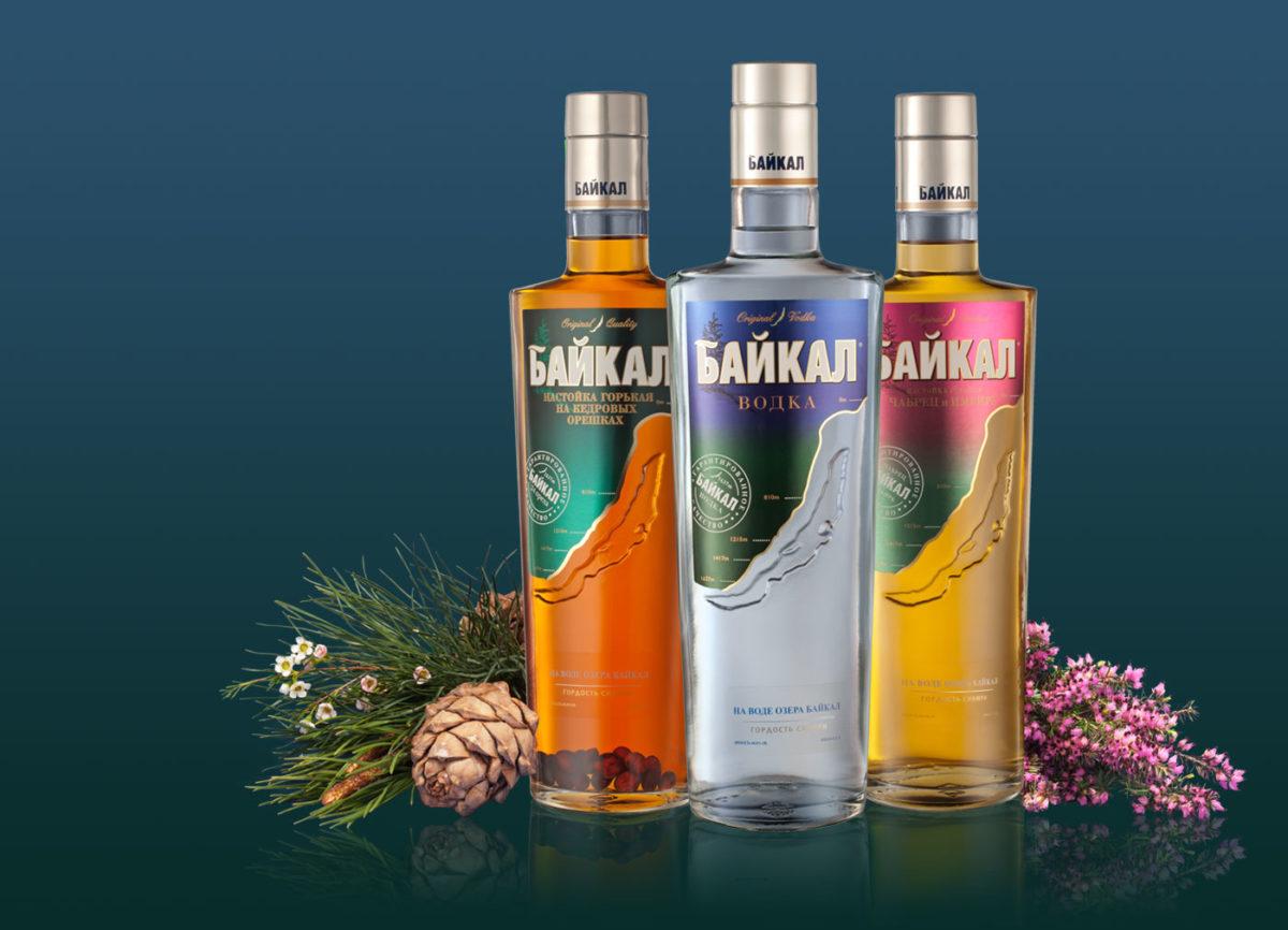 фото видов водки Байкал