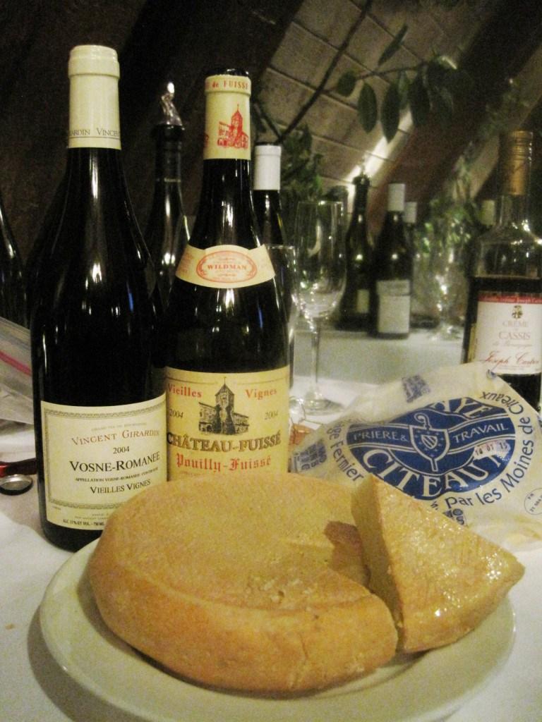 фото чем закусывать бургундские вина