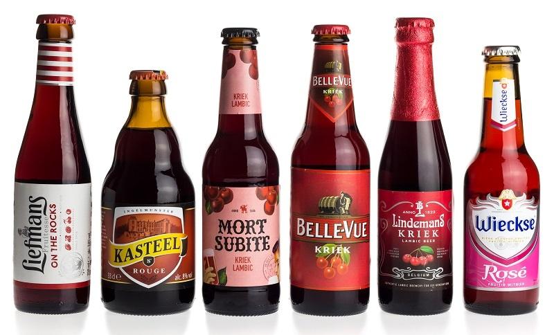 известные марки бельгийского пива крик