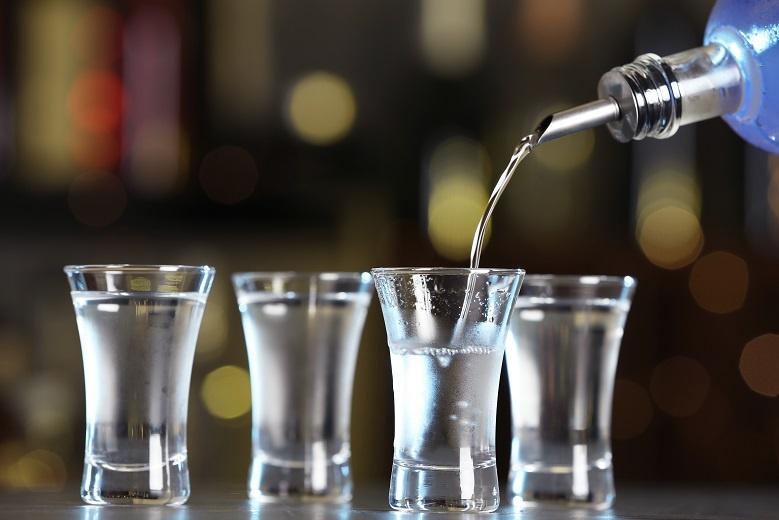 шоты водки для коктейлей