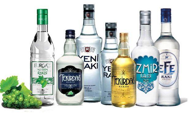 фото турецкого спиртного напитка ракы