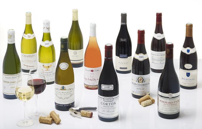 фото видов бургундских вин