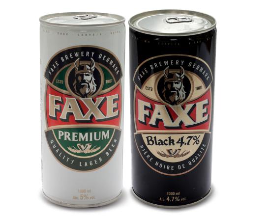 ассортимент пива Факсе