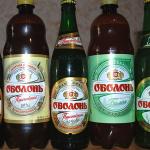 фото бутылки пива оболонь