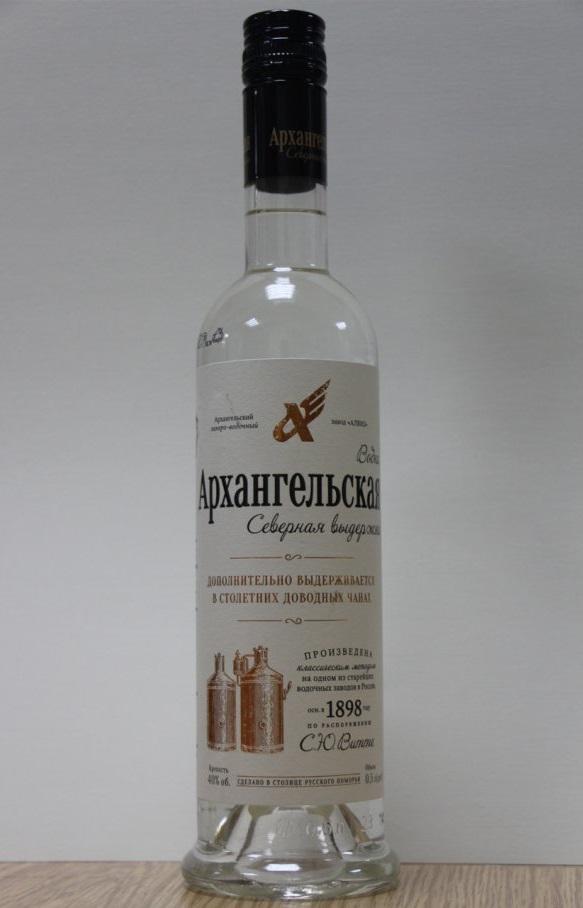фото бутылки водки Архангельская Северная выдержка