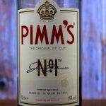 фото этикетки напитка Пиммс