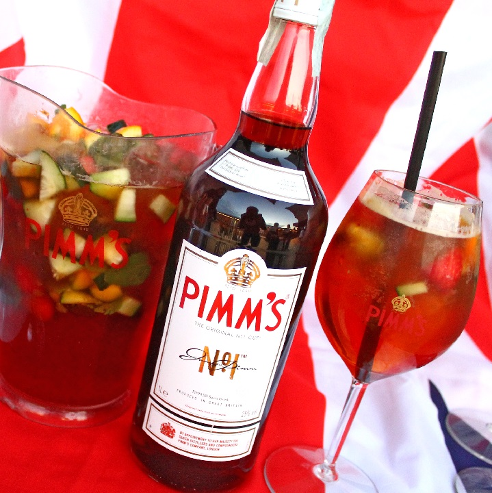 фото коктейлей с пиммс