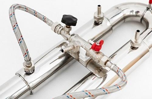 фото конструктивных особенностей дефлегматора бражной колонны Алковар УБК 50