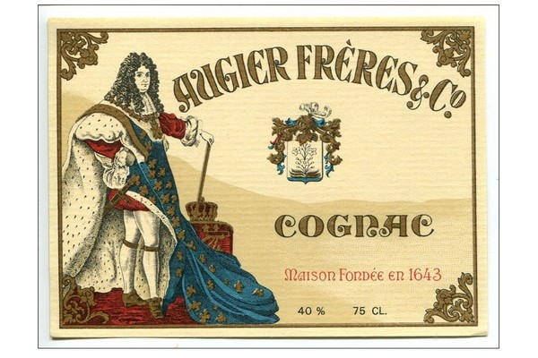 фото логотипа коньяка Ожье