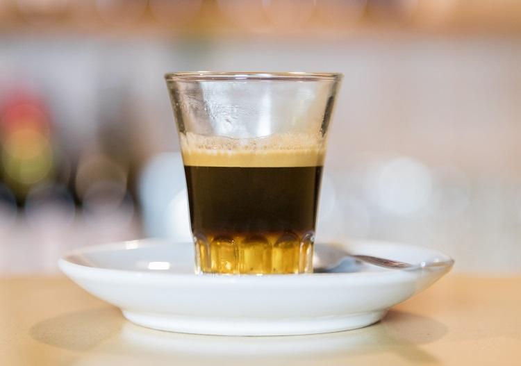 фото слоистого кофе карахильйо