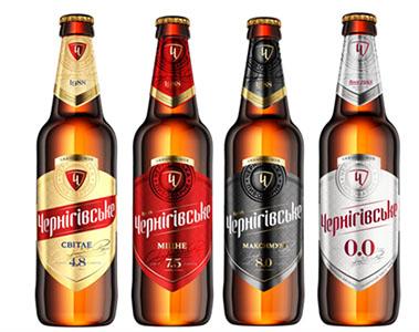 фото ассортимента пива Черниговское