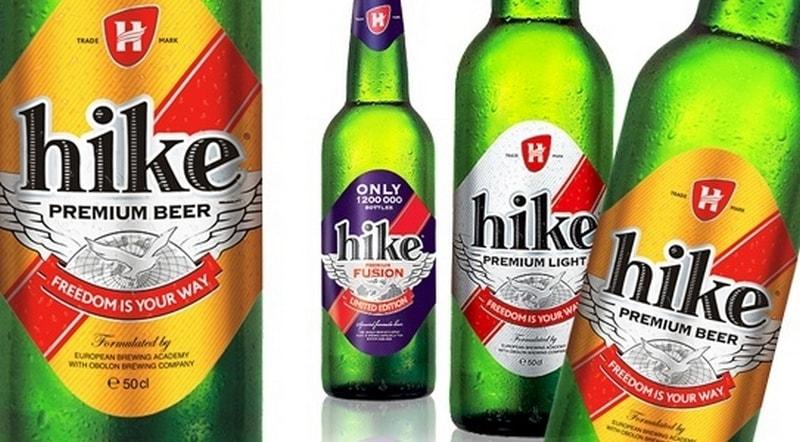 фото ассортимента пива Хайк