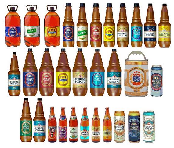 фото видов пива букет Чувашии