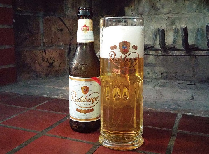 фото любимого пива Путина Радебергер