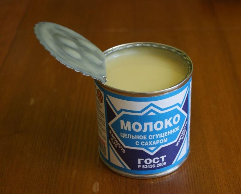 фото правильного сгущённого молока