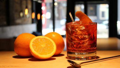 алкогольный коктейль Бульвардье