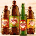 фото бутылок пива ячменный колос