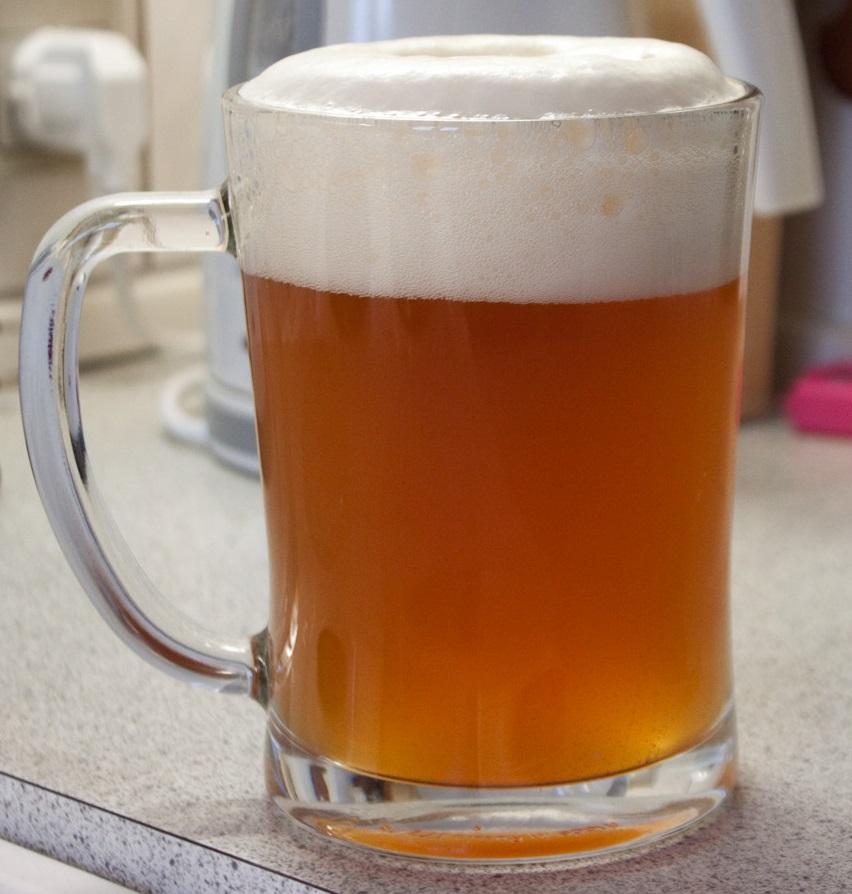 фото домашнего пшеничного пива