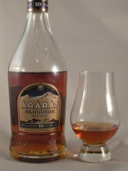 фото бутылки коньяка ахтамар