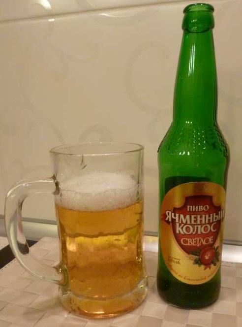 фото пива ячменный колос