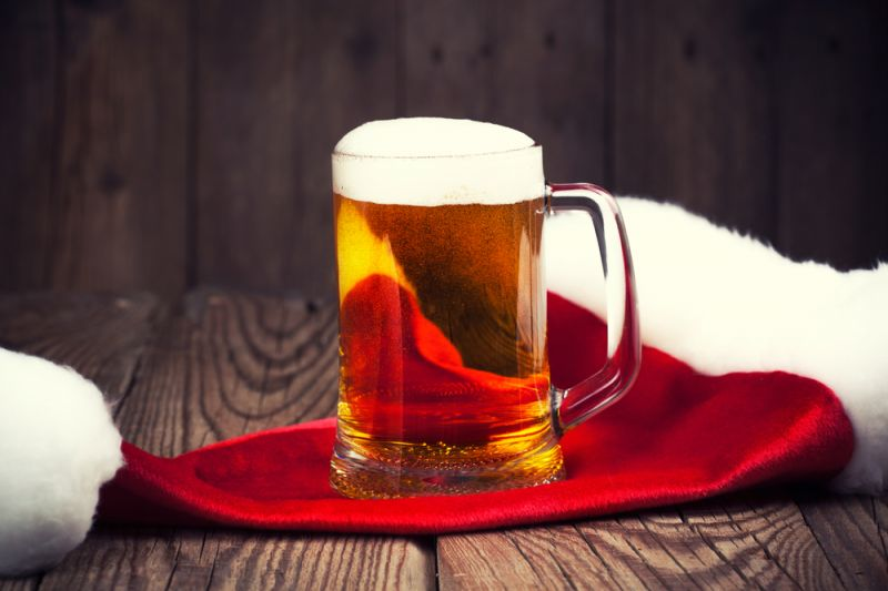 фото рождественского пива Дании