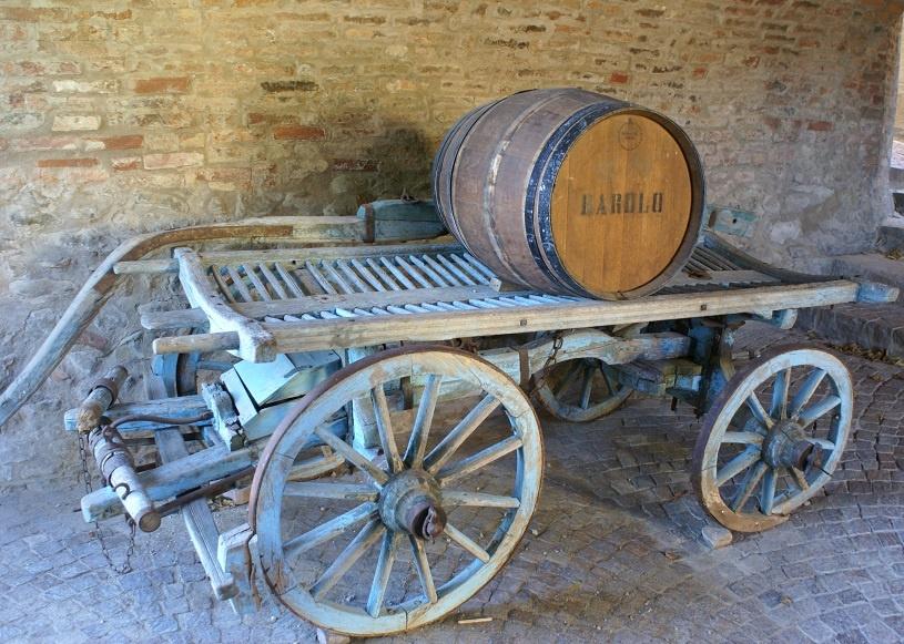 выдержка вина бароло в бочках