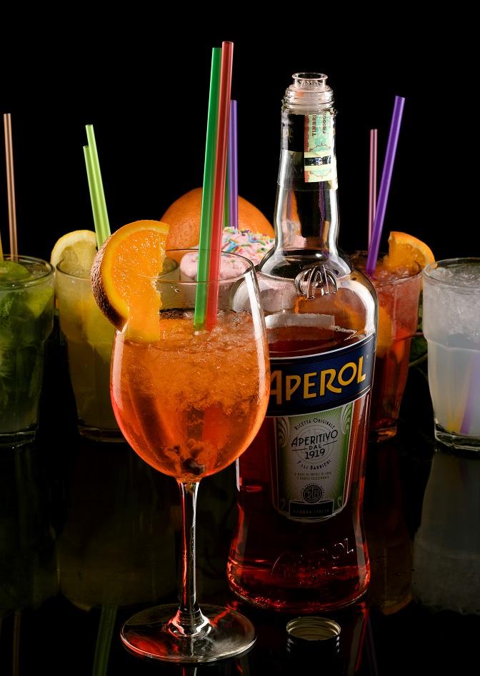 фото алкогольного коктейля Апероль Шприц