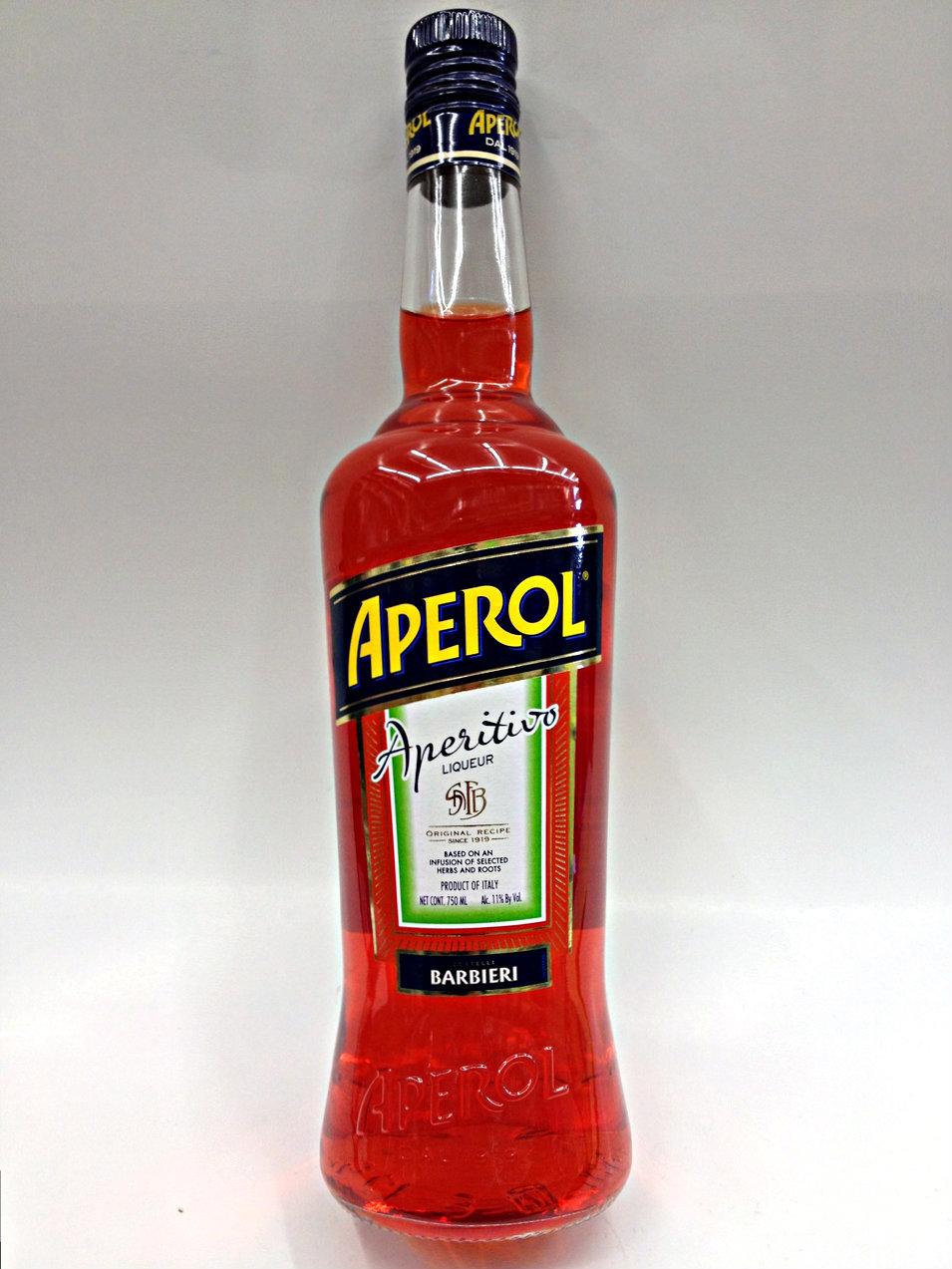 фото бутылки ликера апероль