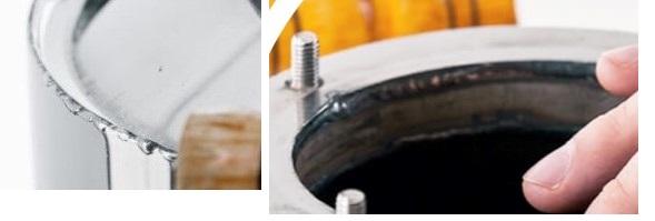 фото качества сварных швов аппарата Малиновка Капитан Про