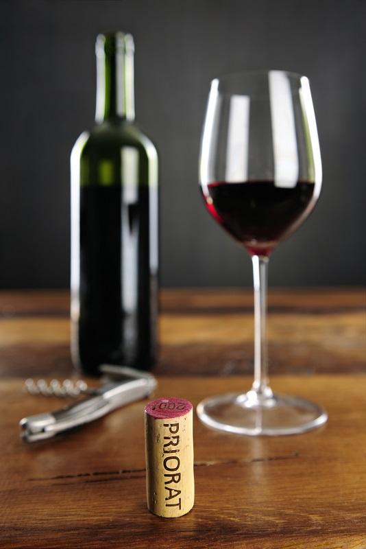 фото красного вина из Приората