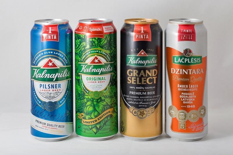 марки литовского пива