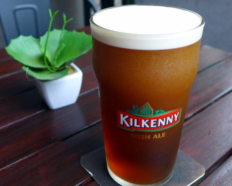фото пива Килкенни в бокале