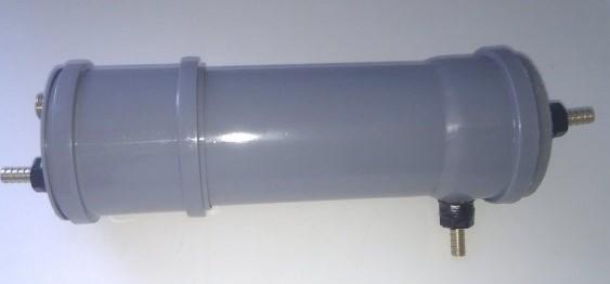 фото проточного змеевика из канализационной трубы
