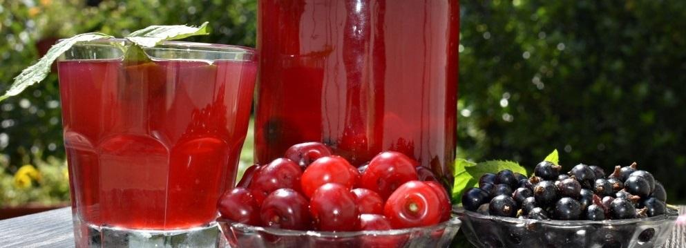 фото вишнево-смородинного спотыкача