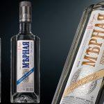 фото бутылки водки Мерная
