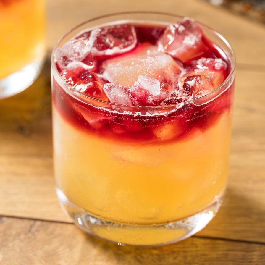 алкогольный коктейль New York Sour фото