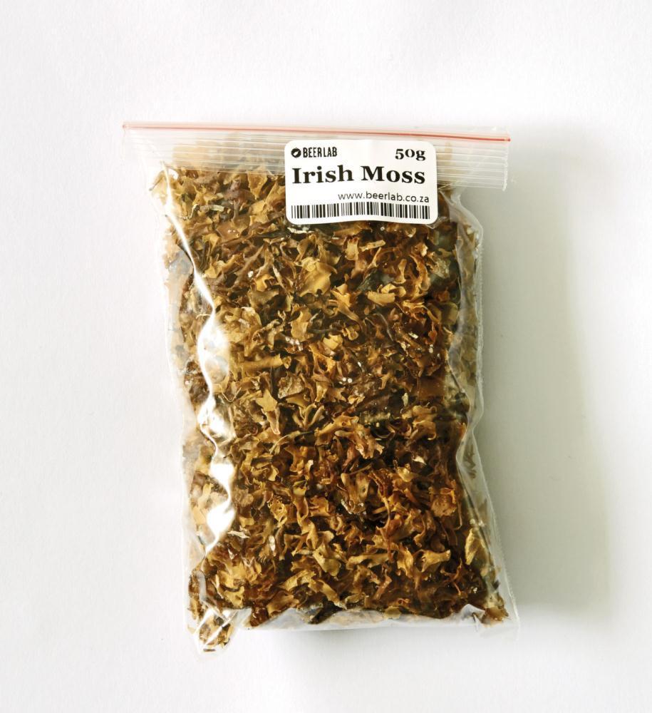 фото сушеного ирландского мха для пива