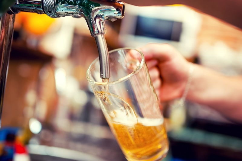 фото пива драфт из кеги
